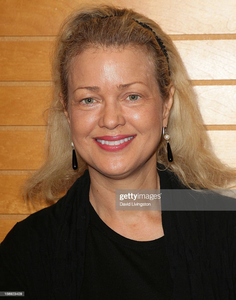 Actress Melody Anderson attends a signing of Christopher Kennedy Lawford's book 'Recover to Live: Kick Any Habit, Manage Any Addiction' at Barnes & Noble 3rd Street Promenade on January 3, 2013 in Santa Monica, California.