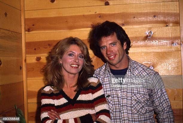 Actress Melody Green and actor Tom Wopat pose for a portrait 1980 in Los Angeles California