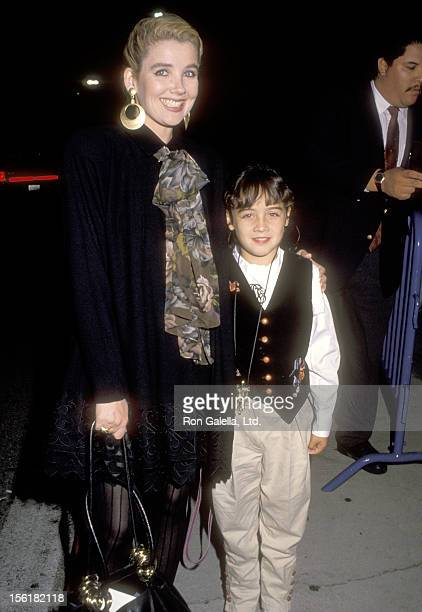 Actress Melody Thomas Scott and daughter Alexandra Scott attend The Ice Capades Golden Anniversary Edition Opening Night Show with a Special...