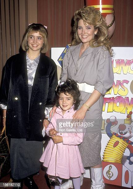 Actress Melody Thomas Scott and daughters Jennifer Scott and Alexandra Scott attend The Young Musicians Foundation's Sixth Annual Celebrity...