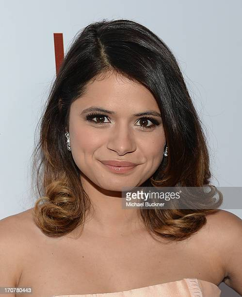 Actress Melonie Diaz arrives at the premiere of The Weinstein Company's Fruitvale Station at Regal Cinemas LA Live on June 17 2013 in Los Angeles...