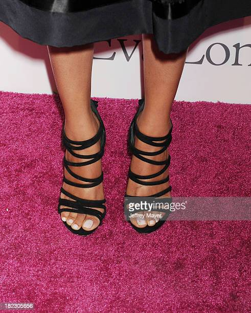 Actress Melonie Diaz at the Eva Longoria Foundation Dinner at Beso restaurant on September 28 2013 in Hollywood California