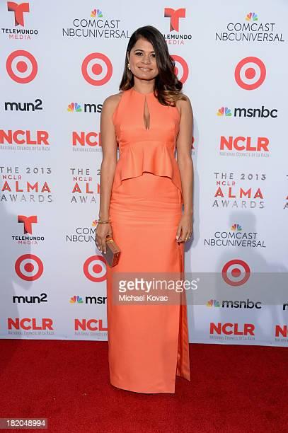 Actress Melonie Diaz attends the 2013 NCLR ALMA Awards at Pasadena Civic Auditorium on September 27 2013 in Pasadena California