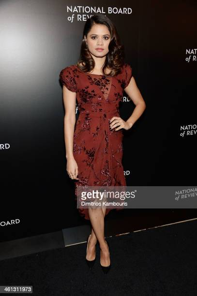 Actress Melonie Diaz attends the 2014 National Board Of Review Awards Gala at Cipriani 42nd Street on January 7, 2014 in New York City.