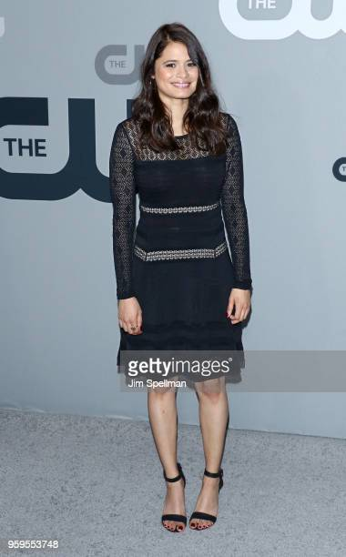 Actress Melonie Diaz attends the 2018 CW Network Upfront at The London Hotel on May 17 2018 in New York City