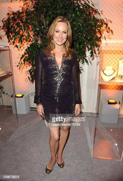 Actress Melora Hardin arrives at ELLE's 17th Annual Women in Hollywood Tribute at The Four Seasons Hotel on October 18 2010 in Beverly Hills...