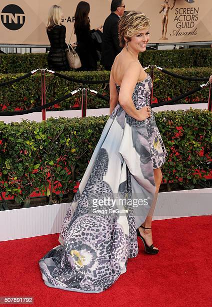 Actress Melora Hardin arrives at the 22nd Annual Screen Actors Guild Awards at The Shrine Auditorium on January 30 2016 in Los Angeles California