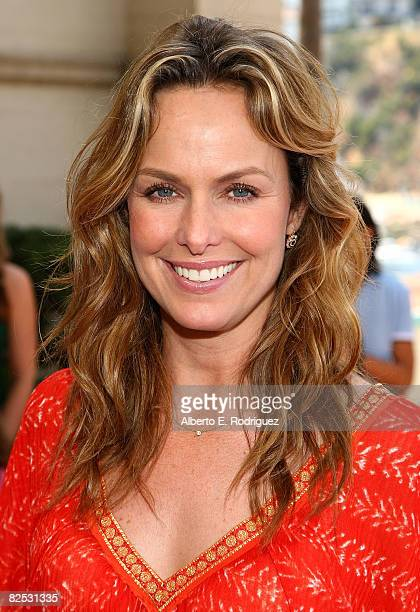 Actress Melora Hardin arrives at the DVD launch of Walt Disney's 'Little Mermaid Ariel's Beginning held at the Avalon Casino on Catalina Island on...