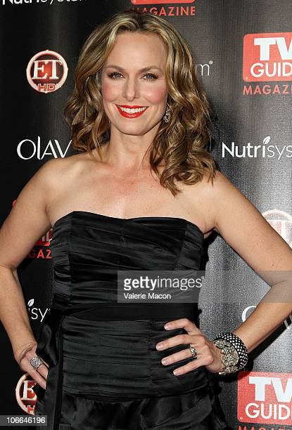 Actress Melora Hardin arrives at TV Guide Magazine's 2010 Hot List Party on November 8 2010 in Hollywood California