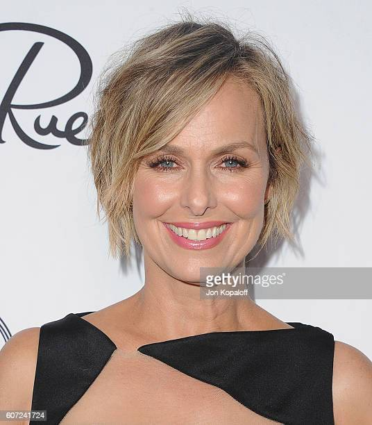 Actress Melora Hardin arrives at Variety And Women In Film's PreEmmy Celebration at Gracias Madre on September 16 2016 in West Hollywood California