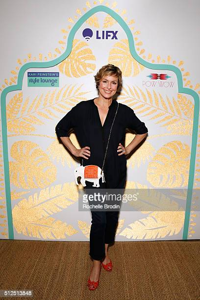 Actress Melora Hardin attends Kari Feinstein's Style Lounge presented by LIFX on February 26 2016 in Los Angeles California