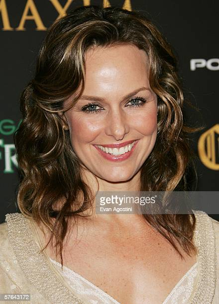 Actress Melora Hardin attends Maxim Magazine's 7th Annual Hot 100 party at Buddha Bar May 17 2006 in New York City