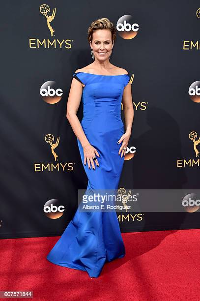 Actress Melora Hardin attends the 68th Annual Primetime Emmy Awards at Microsoft Theater on September 18 2016 in Los Angeles California