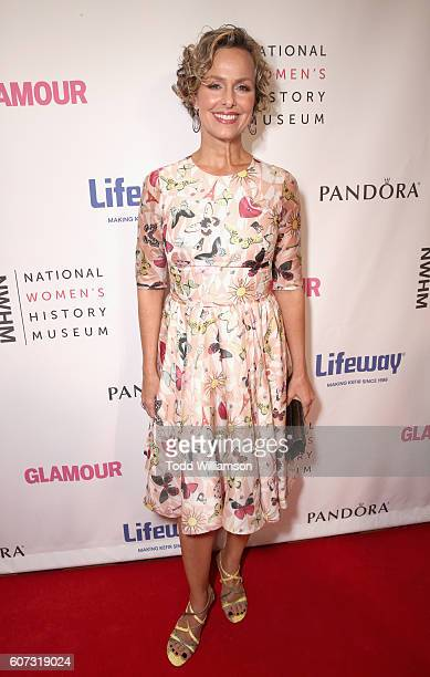 Actress Melora Hardin attends the National Women's History Museum 5th Annual Women Making History Brunch presented by Glamour and Lifeway Foods at...