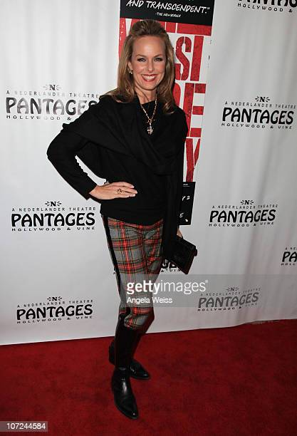 Actress Melora Hardin attends the opening night of 'West Side Story' at the Pantages Theatre on December 1 2010 in Hollywood California