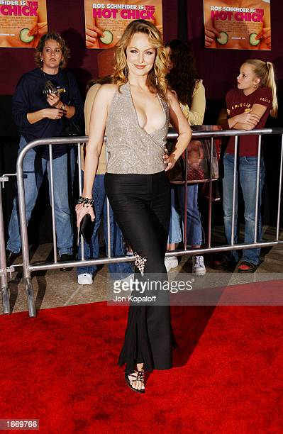 Actress Melora Hardin attends the premiere of The Hot Chick at Loews Cineplex Theatres on December 2 2002 in Century City California