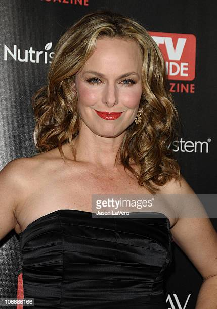 Actress Melora Hardin attends TV Guide Magazine's Hot List 2010 party at Drai's Hollywood on November 8 2010 in Hollywood California