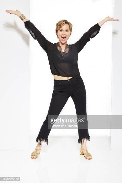 Actress Melora Hardin of NBC's 'The Bold Type' is photographed for Entertainment Weekly Magazine on June 10 2017 in Austin Texas