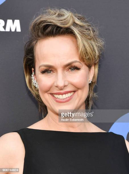 Actress Melora Hardin of The Bold Type arrives at Freeform Summit on January 18 2018 in Hollywood California
