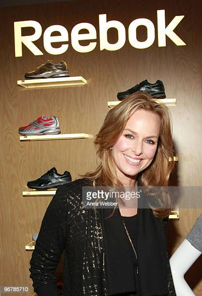 Actress Melora Hardin poses at Reebok during the Kari Feinstein Golden Globes Style Lounge at Zune LA on January 14, 2010 in Los Angeles, California.
