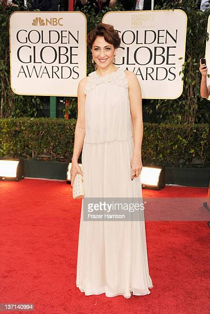 Actress Meltem Cumbul arrives at the 69th Annual Golden Globe Awards held at the Beverly Hilton Hotel on January 15 2012 in Beverly Hills California