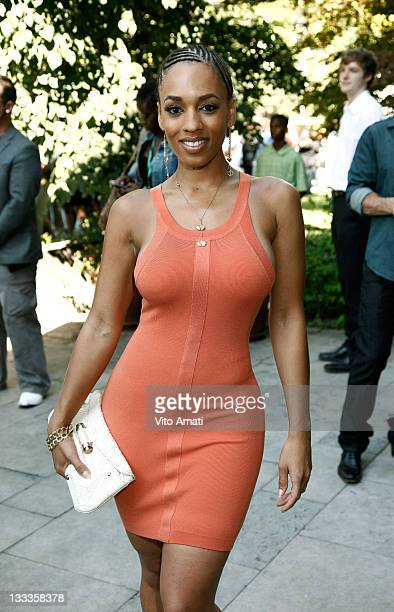 Actress Melyssa Ford attends 'Good Hair' Premiere at the Isabel Bader Theatre during the 2009 Toronto International Film Festival on September 13...