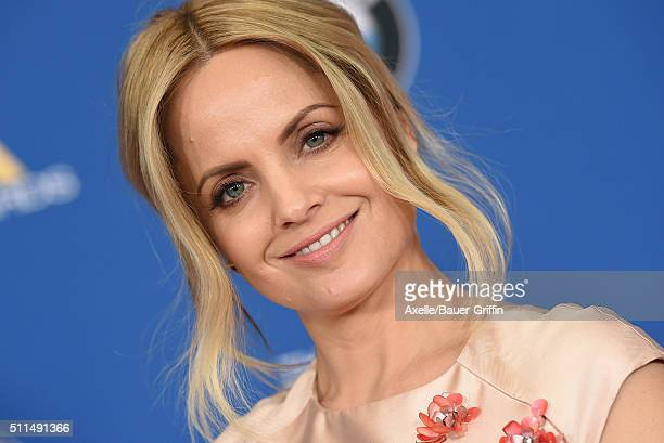 Actress Mena Suvari arrives at the 68th Annual Directors Guild of America Awards at the Hyatt Regency Century Plaza on February 6 2016 in Los Angeles...