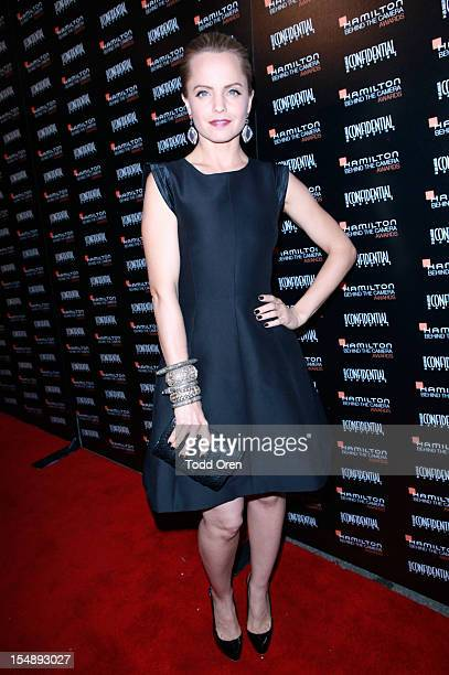 Actress Mena Suvari arrives at The 6th Annual Hamilton Behind The Camera Awards presented by Hamilton Watches and Los Angeles Confidential Magazine...