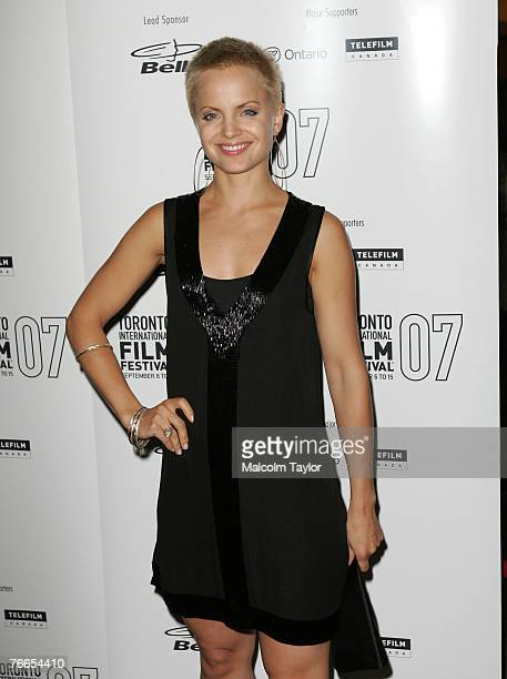 Actress Mena Suvari arrives at the midnight madness Stuck north american premiere during the Toronto International Film Festival 2007 held at Ryerson...
