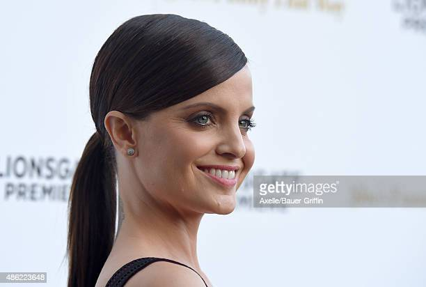 Actress Mena Suvari arrives at the premiere of Lionsgate's 'She's Funny That Way' at Harmony Gold on August 19 2015 in Los Angeles California