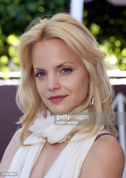 "Actress Mena Suvari arrives to participate as one of the panel members at the Times Talks ""Queer Storytelling on Six Feet Under"" in partnership with..."