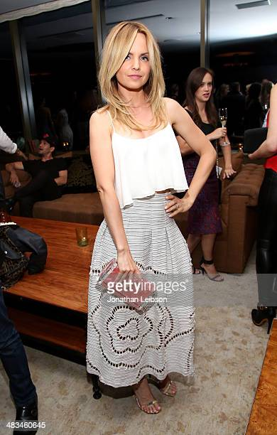 Actress Mena Suvari attends Marie Claire Celebrates May Cover Stars on April 8 2014 in West Hollywood California