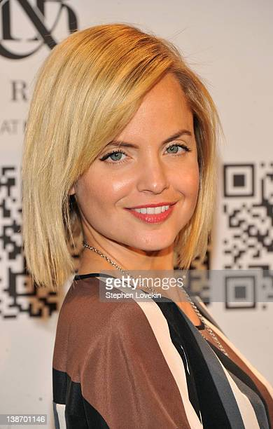 Actress Mena Suvari attends Rock & Republic For Kohl's during Fall 2012 Mercedes-Benz Fashion Week at Hammerstein Ballroom on February 10, 2012 in...