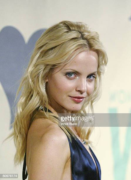 Actress Mena Suvari attends the 2004 Crystal and Lucy Awards A Family Affair Women In Film Celebrate the Paltrow Family on June 18 2004 at the...
