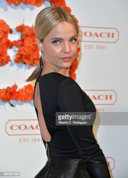 Actress Mena Suvari attends the 3rd Annual Coach Evening to benefit Children's Defense Fund at Bad Robot on April 10 2013 in Santa Monica California