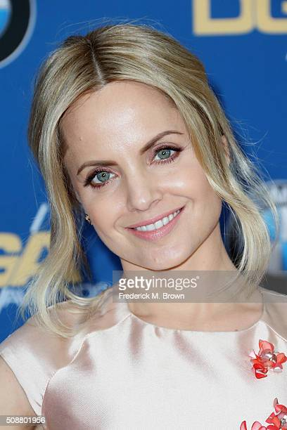Actress Mena Suvari attends the 68th Annual Directors Guild Of America Awards at the Hyatt Regency Century Plaza on February 6 2016 in Los Angeles...