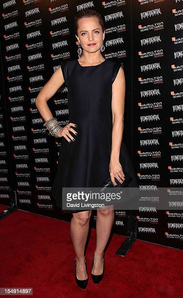 Actress Mena Suvari attends the 6th Annual Hamilton Behind The Camera Awards presented by Los Angeles Confidential Magazine at the House of Blues...