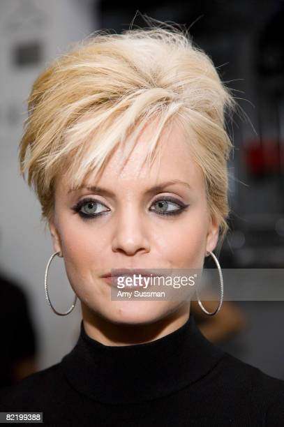 Actress Mena Suvari attends the celebration of The Anniversary of Andy Warhol's 80th Birthday at the New Museum on August 6 2008 in New York City