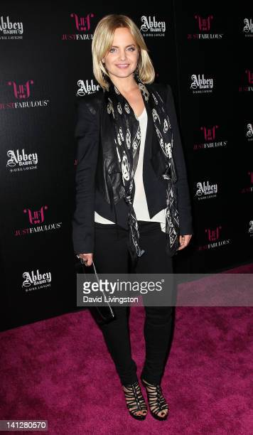 Actress Mena Suvari attends the launch party For Abbey Dawn by Avril Lavigne at the Viper Room on March 13 2012 in West Hollywood California