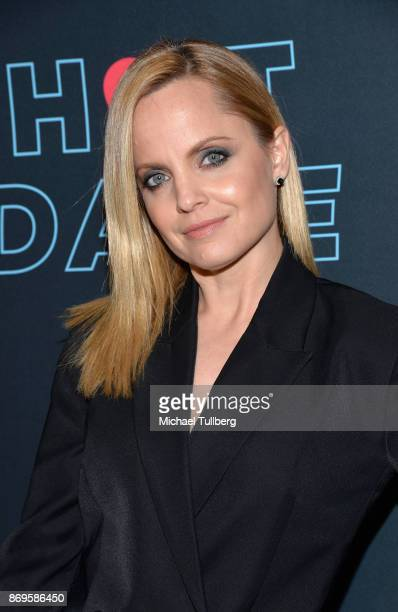 Actress Mena Suvari attends the premiere of Pop TV's 'Hot Date' at Estrella on November 2 2017 in West Hollywood California
