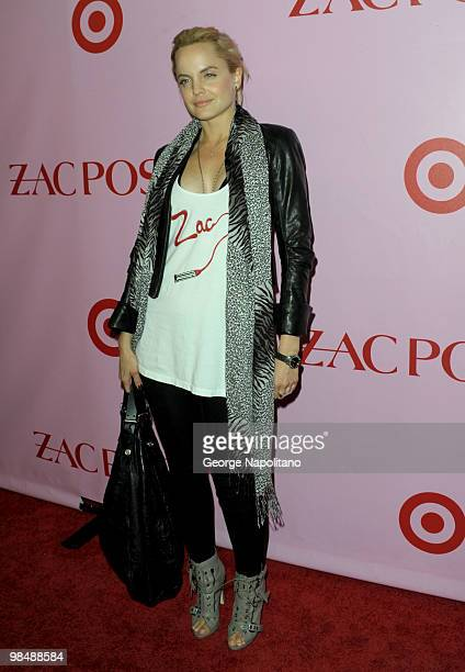 Actress Mena Suvari attends the Zac Posen for Target Collection launch party at the New Yorker Hotel on April 15 2010 in New York City