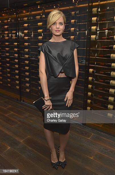 Actress Mena Suvari hosts GenArt's 14th Annual Fresh Faces In Fashion Intimate Dinner at Andaz on October 15 2012 in West Hollywood California