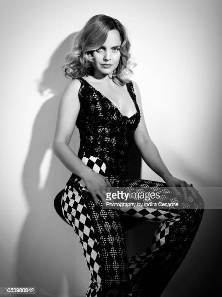 Actress Mena Suvari is photographed for The Untitled Magazine on April 18 2018 at the Untitled Space in New York City PUBLISHED IMAGE