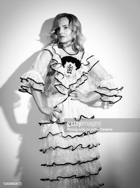Actress Mena Suvari is photographed for The Untitled Magazine on April 18 2018 at the Untitled Space in New York City