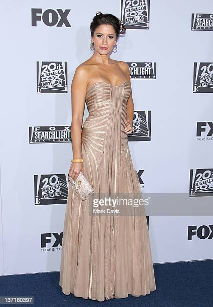 Actress Mercedes Masohn arrives at NBC Universal's 69th Annual Golden Globe Awards After Party at The Beverly Hilton hotel on January 15 2012 in...