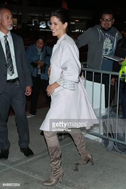 Actress Mercedes Masohn is seen on September 17 2017 in Los Angeles CA