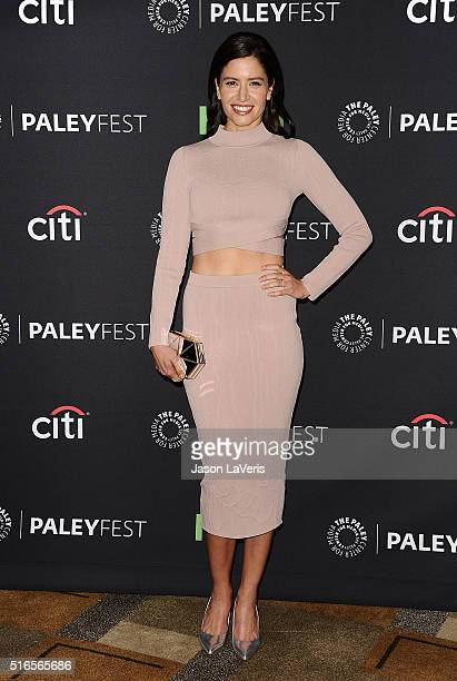 Actress Mercedes Mason attends the Fear The Walking Dead event at the 33rd annual PaleyFest at Dolby Theatre on March 19 2016 in Hollywood California