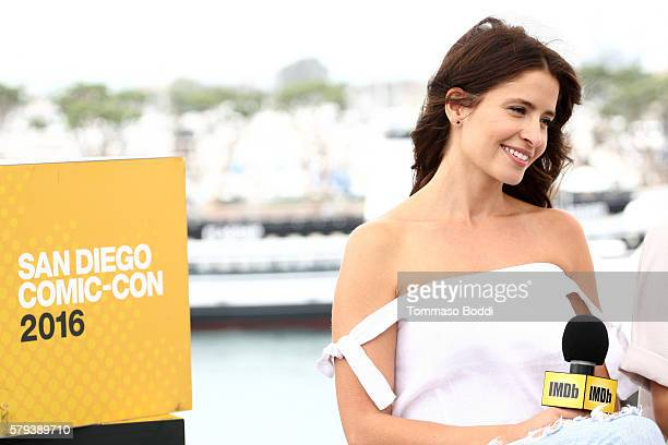 Actress Mercedes Mason of Fear The Walking Dead attends the IMDb Yacht at San Diego ComicCon 2016 Day Three at The IMDb Yacht on July 23 2016 in San...