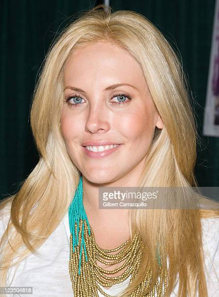 Actress Mercedes McNab attends Wizard World's Philadelphia Comic Con 2011 at the Pennsylvania Convention Center on June 18 2011 in Philadelphia...
