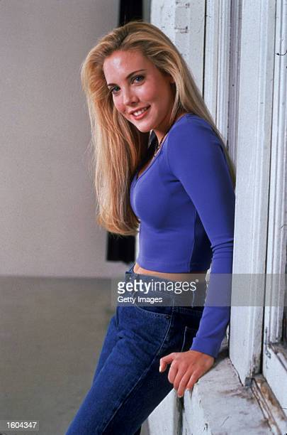 Actress Mercedes McNab poses for a portrait for the television series Beer Money